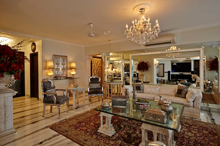 ​Luxurious Living: classic Living room by Interface