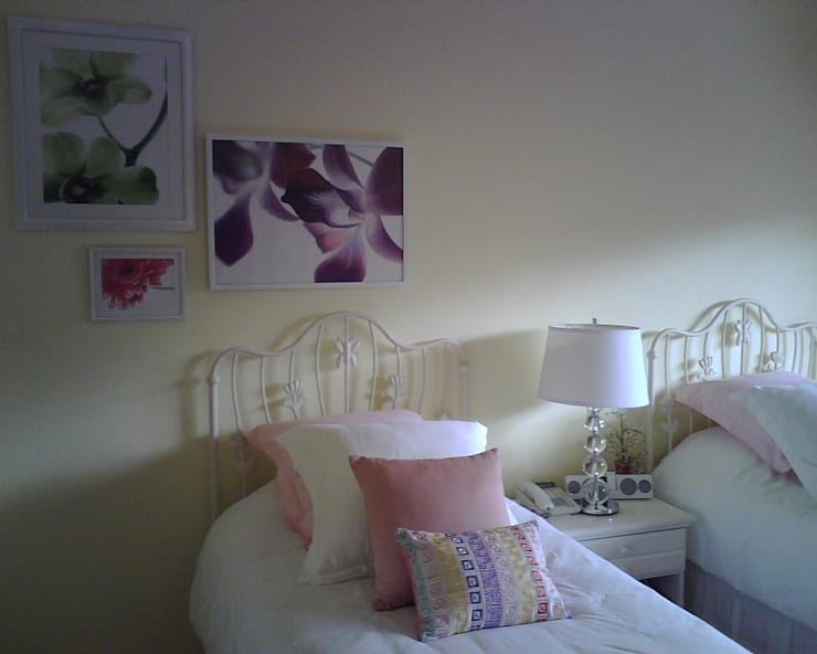 Antes y después: Salas de estilo  por Paola Hernandez Studio Comfort Design