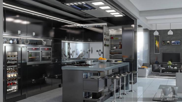 Dom: styl , w kategorii  zaprojektowany przez Black Chilla Design Studio