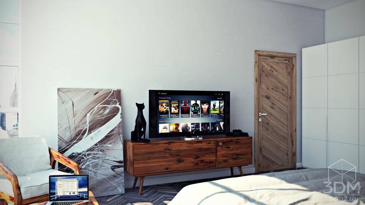 Проект 001: Спальня: Спальни в . Автор – студия визуализации и дизайна интерьера '3dm2',