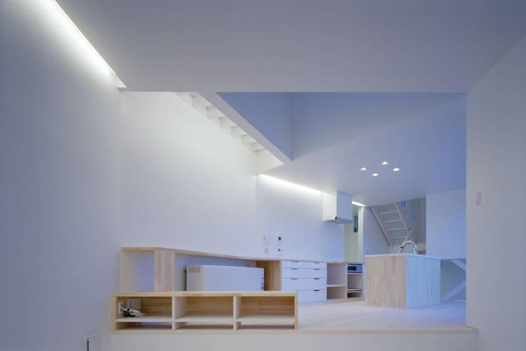 ハマノイエ: 関建築設計室 / SEKI ARCHITECTURE & DESIGN ROOMが手掛けたダイニングです。,