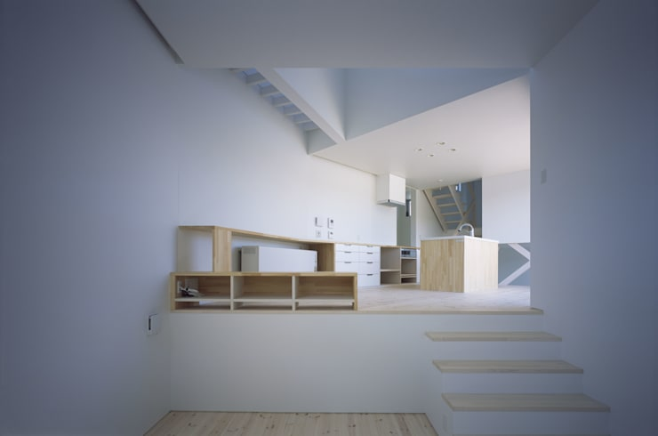 Comedores de estilo  de 関建築設計室 / SEKI ARCHITECTURE & DESIGN ROOM