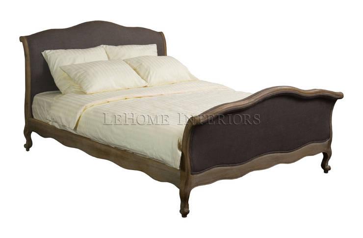 Кровать Longwood Bed B002: Спальная комната  в . Автор – LeHome Interiors