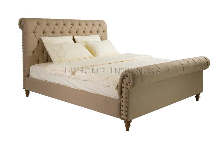 Кровать Chester House Bed B005: Спальная комната  в . Автор – LeHome Interiors