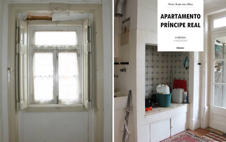 Apartamento Príncipe Real: Cozinhas  por blaanc