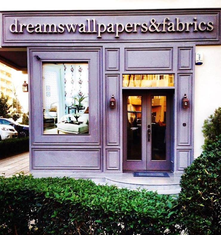 Dreams Wallpapers & Fabrıcs – Dreams Wallpapers: modern tarz Evler