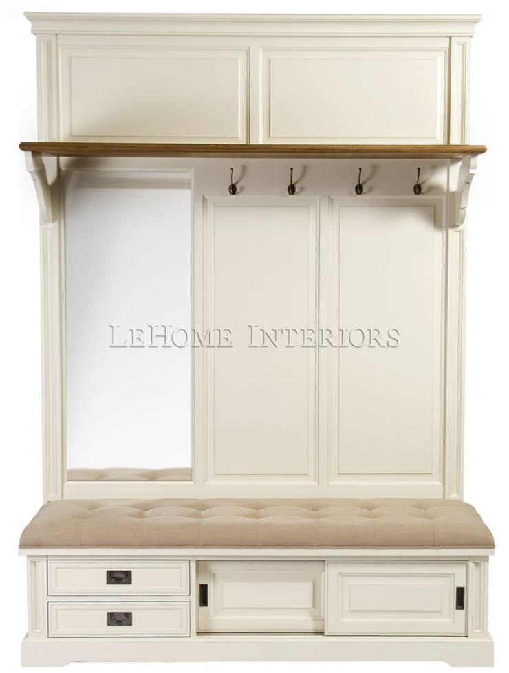 Прихожая Hallway Clothes Storage L053: Прихожая, коридор и лестницы в . Автор – LeHome Interiors