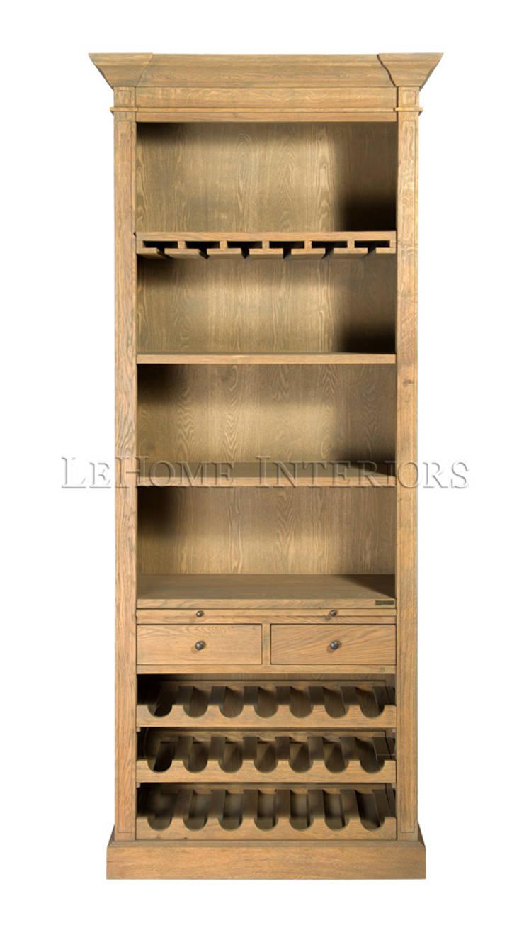 Винный шкаф Gardien Wine Cabinet L087: Столовая комната в . Автор – LeHome Interiors