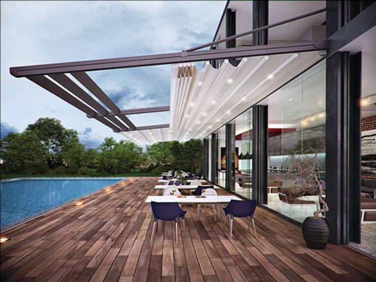 Terrazas de estilo  por Pergolato SRL.