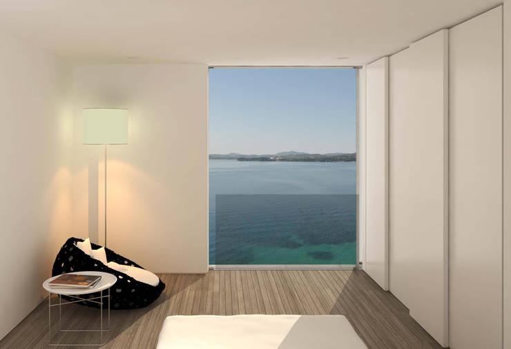 Villa W, GR:  Schlafzimmer von buerger katsota zt gmbh