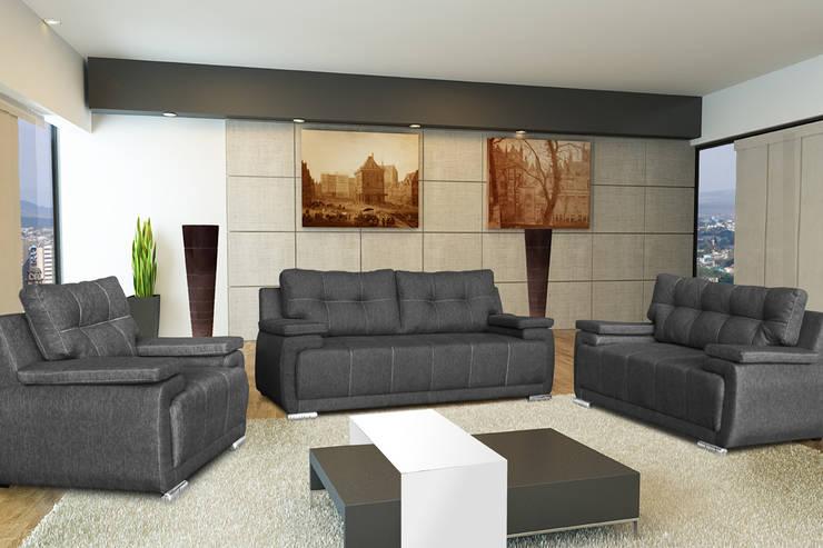 Salas: Salas de estilo  por Vicenza Muebles