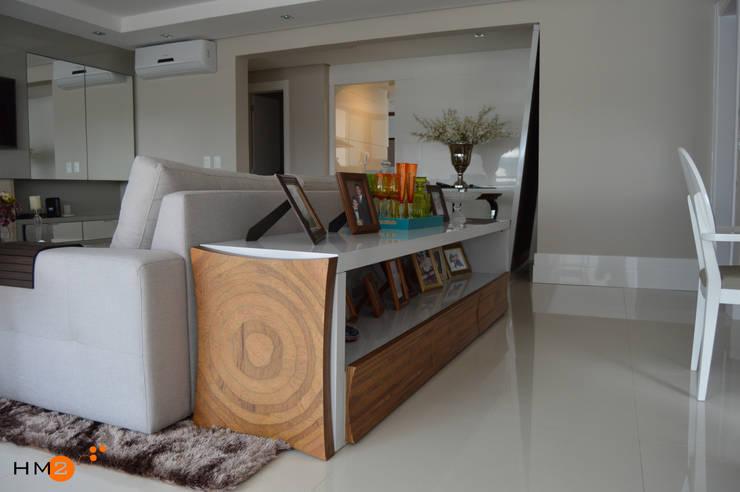 Salas de estilo moderno de HM2 arquitetura criativa Moderno