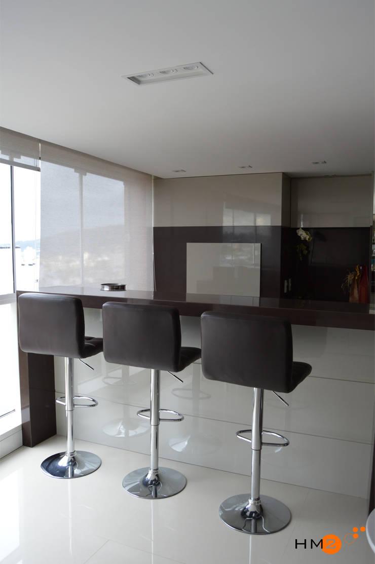 Apartamento NR: Terraços  por HM2 arquitetura criativa