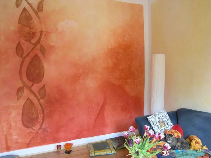 Florales Ornament:  Wohnzimmer von Gennadi Isaak