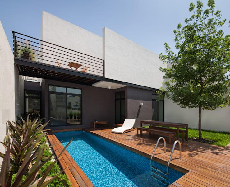 ระเบียง, นอกชาน by LGZ Taller de arquitectura