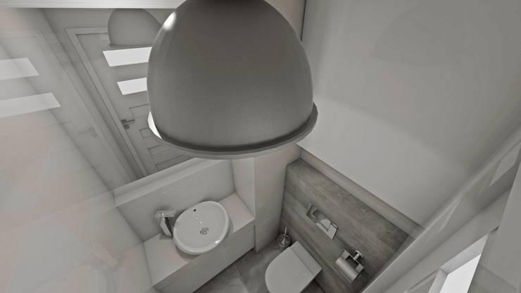 Wizualizacja : styl , w kategorii Łazienka zaprojektowany przez Katarzyna Wnęk,