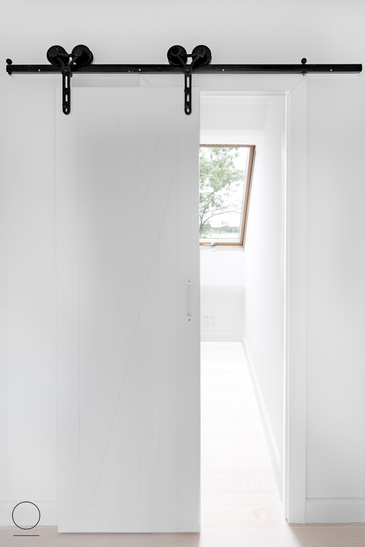DOM W PASYMIU : styl , w kategorii Okna zaprojektowany przez OIKOI,Skandynawski