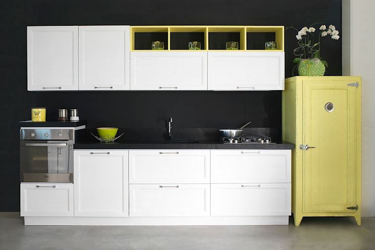 industrial Kitchen by LA BOTTEGA DEL FALEGNAME