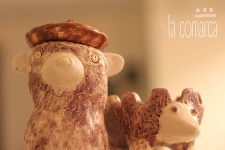 Cajita Oso + Cenicero Erizo:  de estilo  por La comarca,Moderno