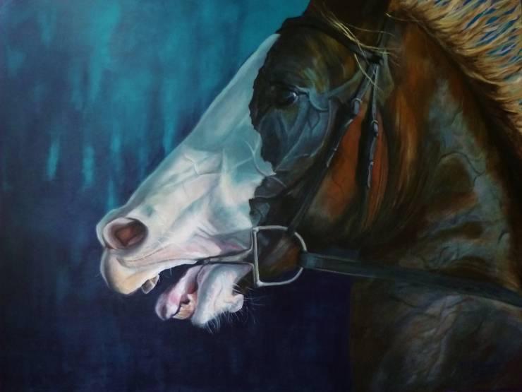 ARABIAN HORSE:  Kunst  door Paardenschilderij - Ellie Schrotenboer