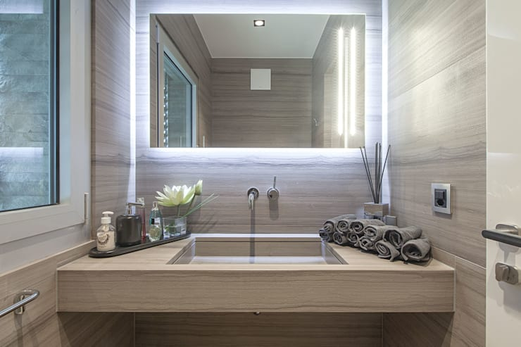 Badezimmer von studiodonizelli