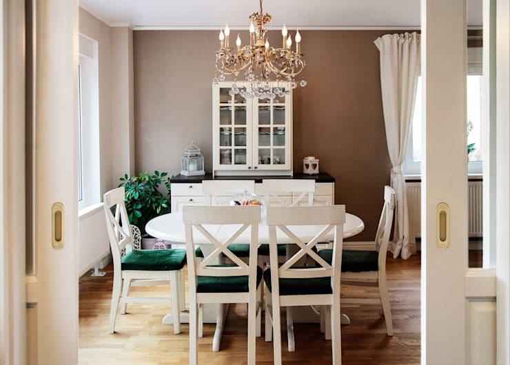 Salas de jantar  por ks-raumgestaltung