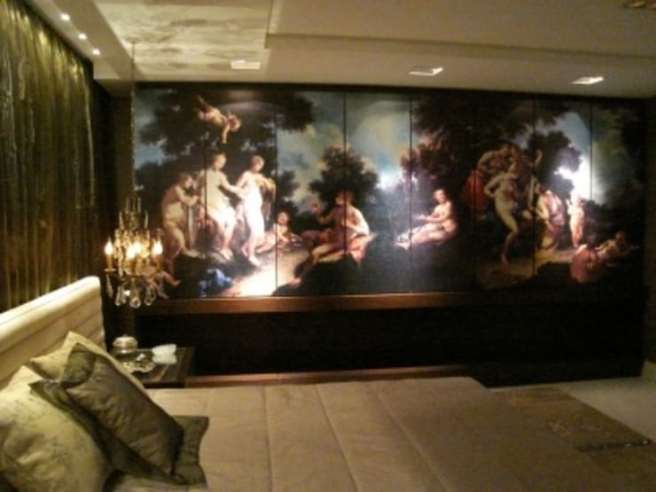 Mostra Casa Nova 2007: Quartos  por ANNA MAYA ARQUITETURA E ARTE