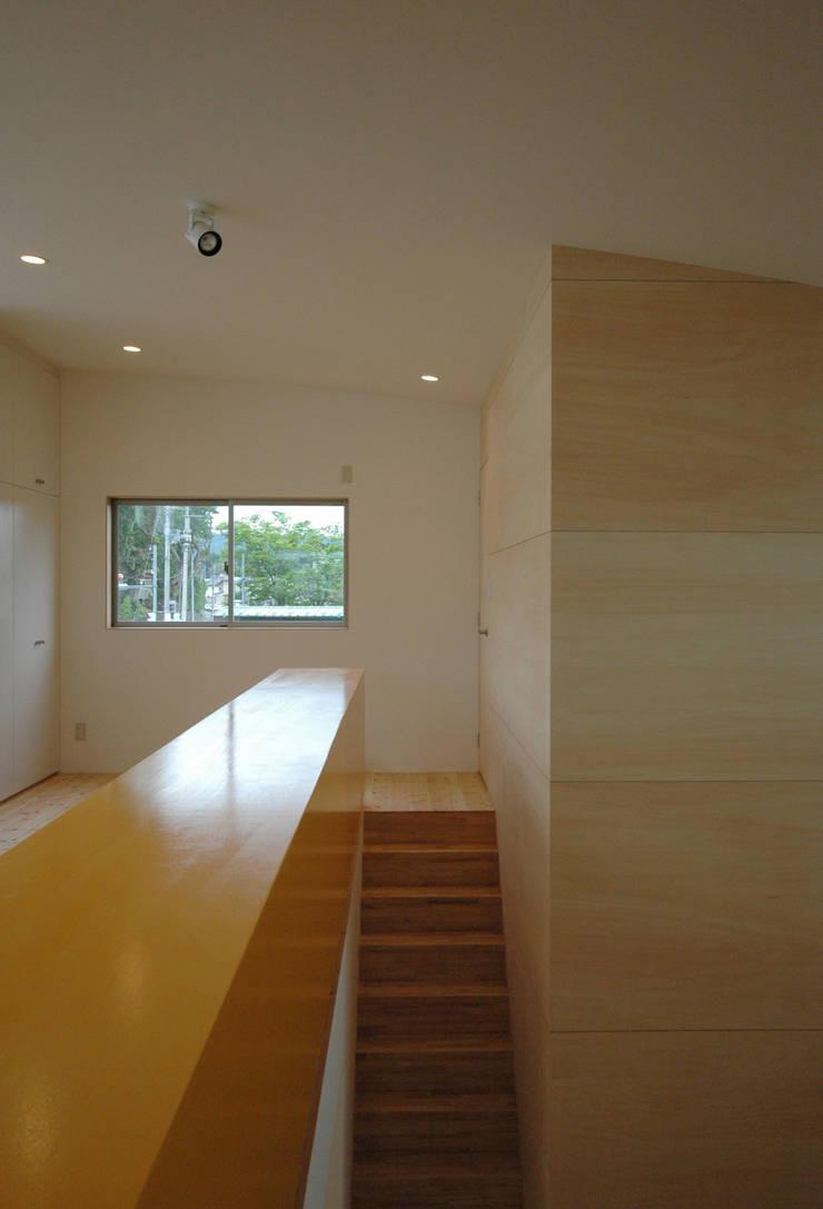 階段 和風の 玄関&廊下&階段 の 株式会社ブレッツァ・アーキテクツ 和風