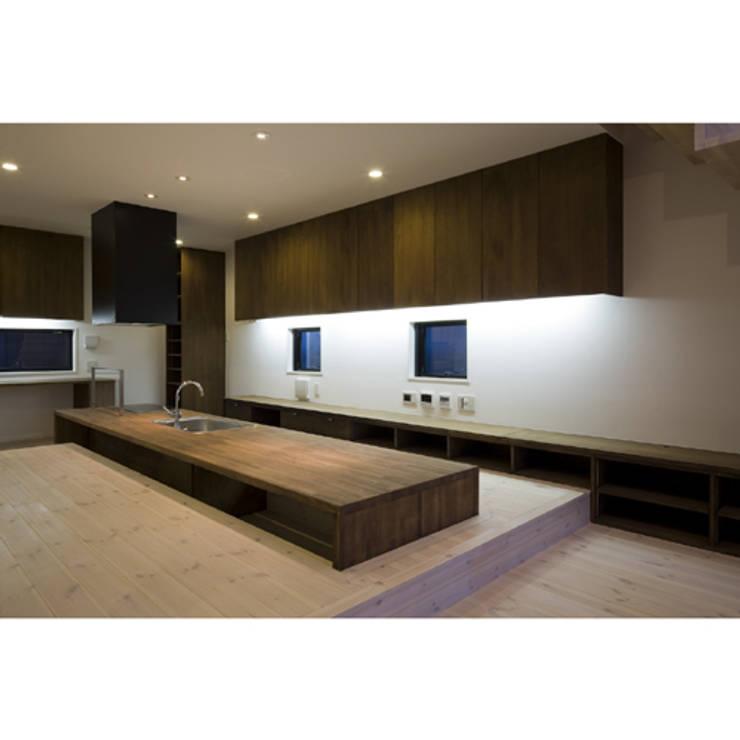 関建築設計室 / SEKI ARCHITECTURE & DESIGN ROOM의  다이닝 룸
