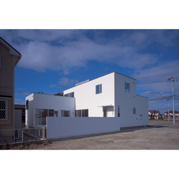 Maisons modernes par 関建築設計室 / SEKI ARCHITECTURE & DESIGN ROOM Moderne