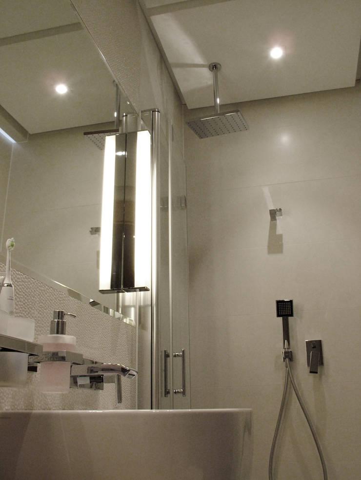 mieszkanie dla pary, 55m2, Gdańsk: styl , w kategorii Taras zaprojektowany przez Studio Projektowania doMIKOart,Nowoczesny
