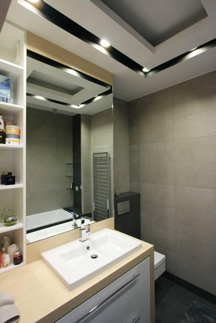 apartament  miasteczko wilanow: styl , w kategorii Taras zaprojektowany przez PIKSTUDIO,Nowoczesny