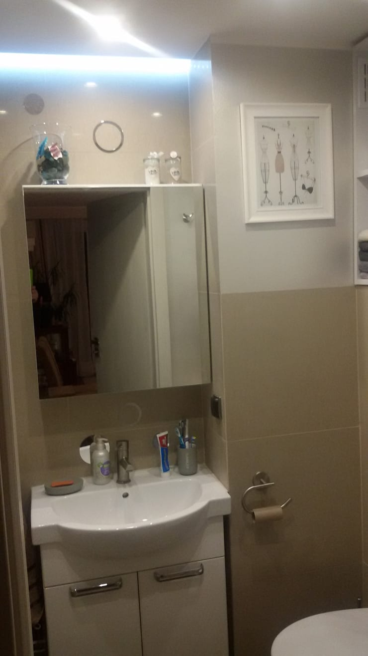 Modern bathroom by Studio Projektowania doMIKOart Modern