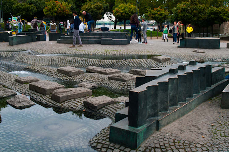건축의 본연,풍경을 담아낸 쉘터(shelter): SHIN의  정원