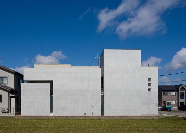 外観: 本田建築設計事務所が手掛けた家です。