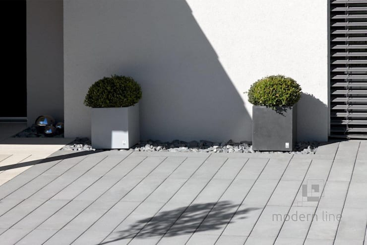 Donica Regular: styl , w kategorii  zaprojektowany przez Modern Line,Nowoczesny