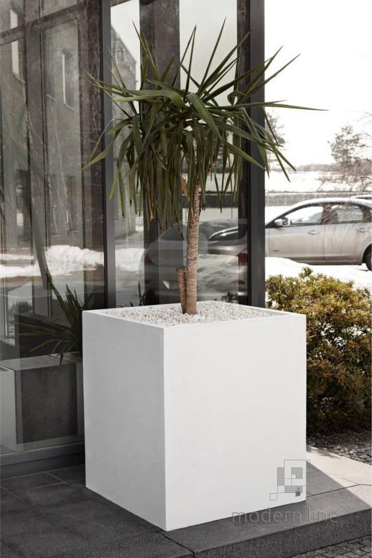 Donica BIG: styl , w kategorii Gospodarstwo domowe zaprojektowany przez Modern Line