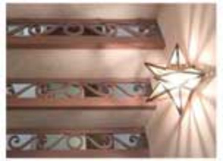 Casa unifamiliare: Ingresso, Corridoio & Scale in stile  di Andrea Pacciani Architetto