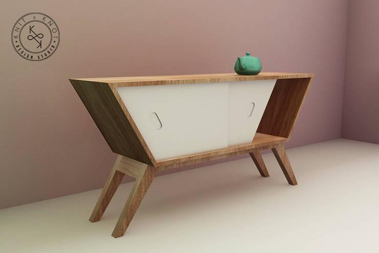 Soggiorno in stile in stile Moderno di Knit&Knot Design Studio