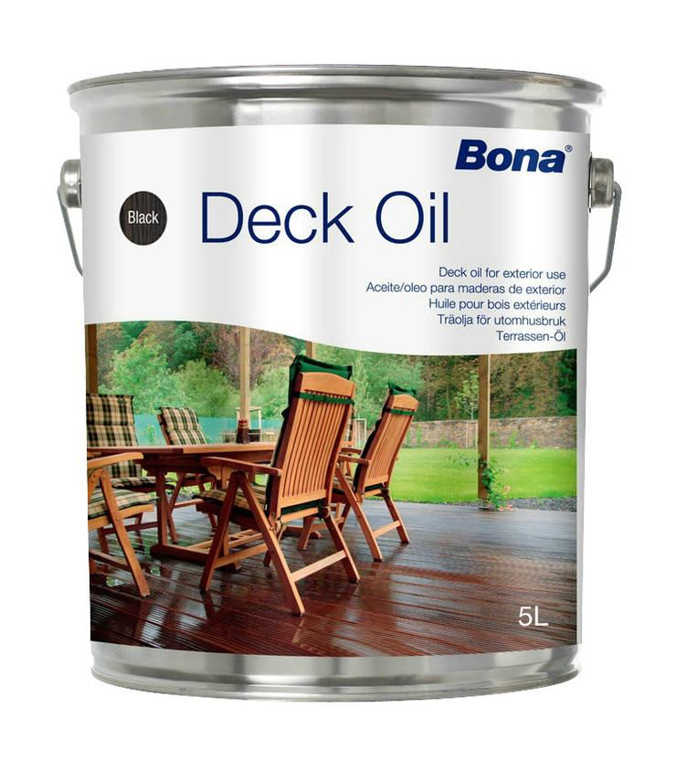 Bona Deck Oil: Paredes y suelos de estilo  de Bona