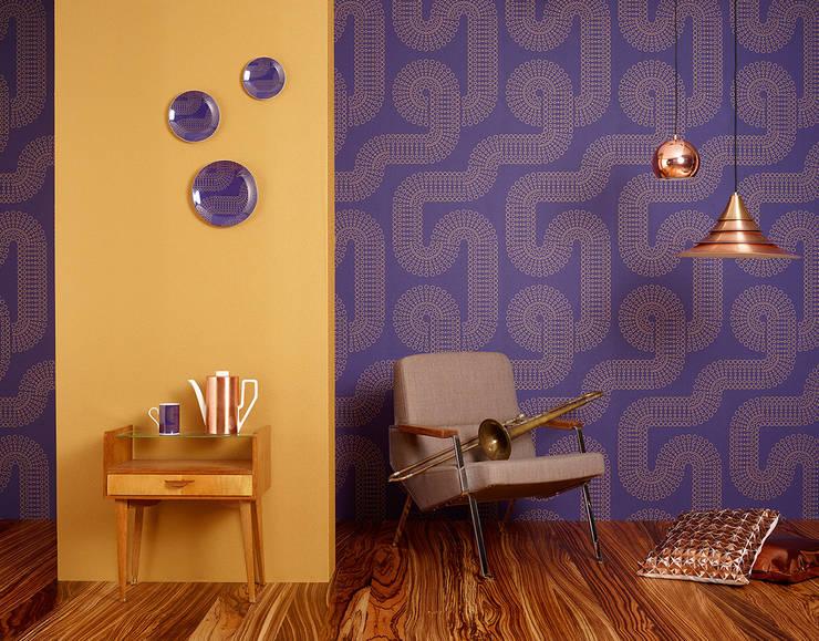Disbar Papeles Pintados의  벽 & 바닥