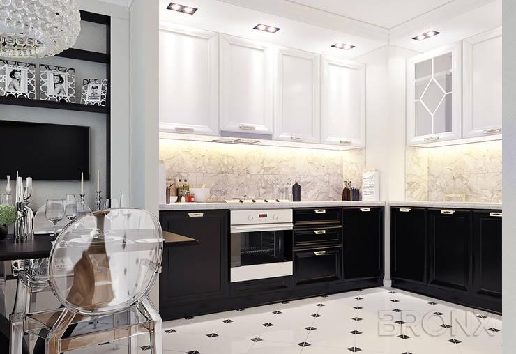 Городок Б, 117 м²: Кухни в . Автор – Bronx,