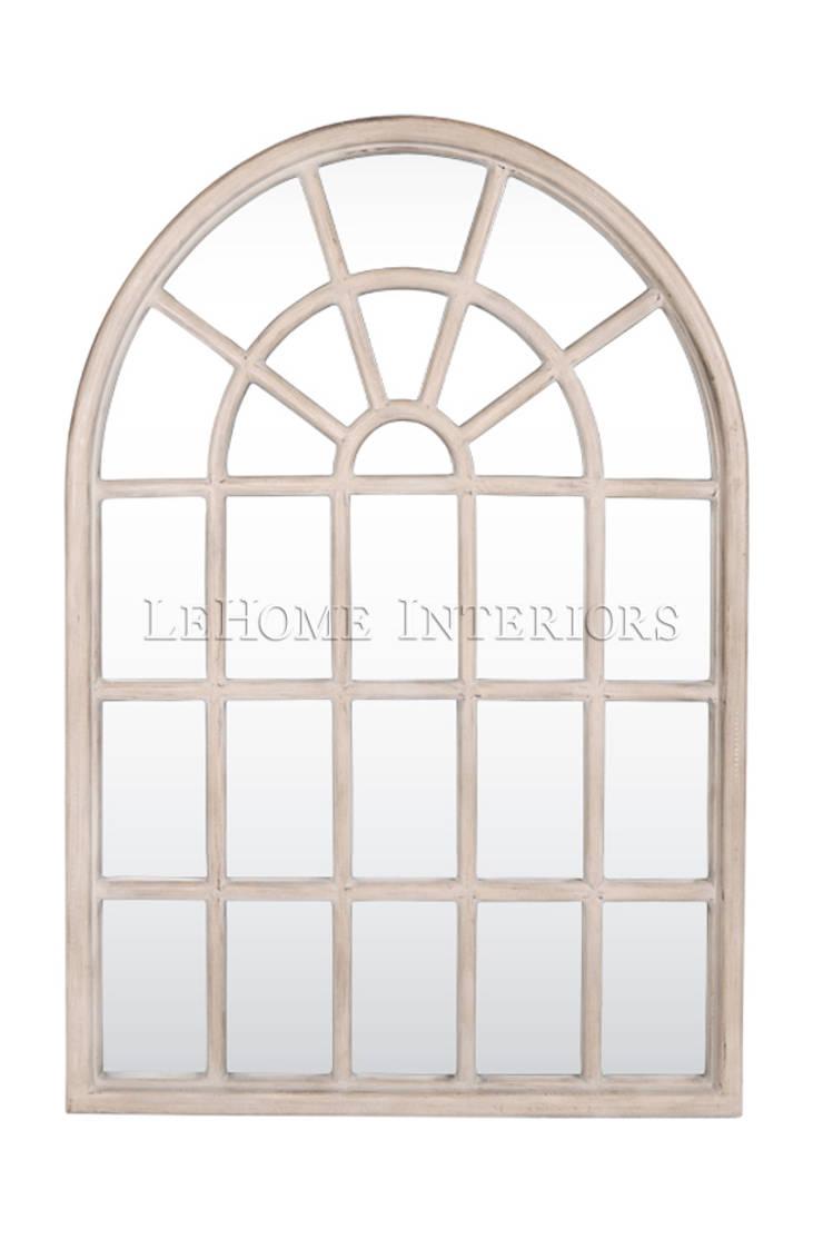 Зеркало M040: Гардеробная в . Автор – LeHome Interiors