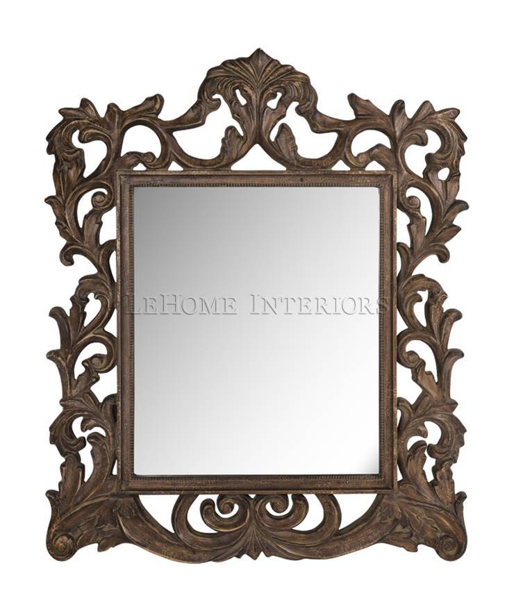 Зеркало M042: Гардеробная в . Автор – LeHome Interiors