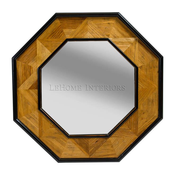 Зеркало M057: Гардеробная в . Автор – LeHome Interiors