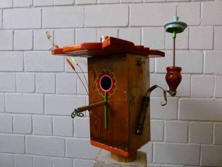 Upcycling Vogelhaus Von Werkstatt Atelier Petra Hemmers Homify