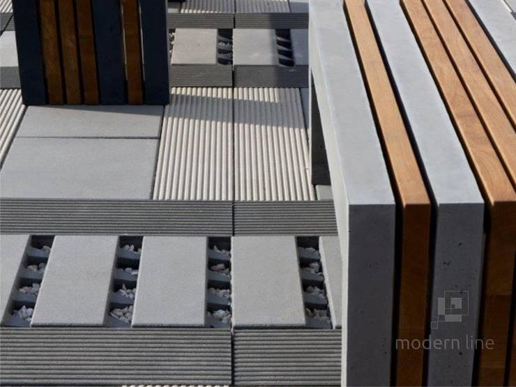 Płyta ecoSolid: styl , w kategorii  zaprojektowany przez Modern Line,Nowoczesny