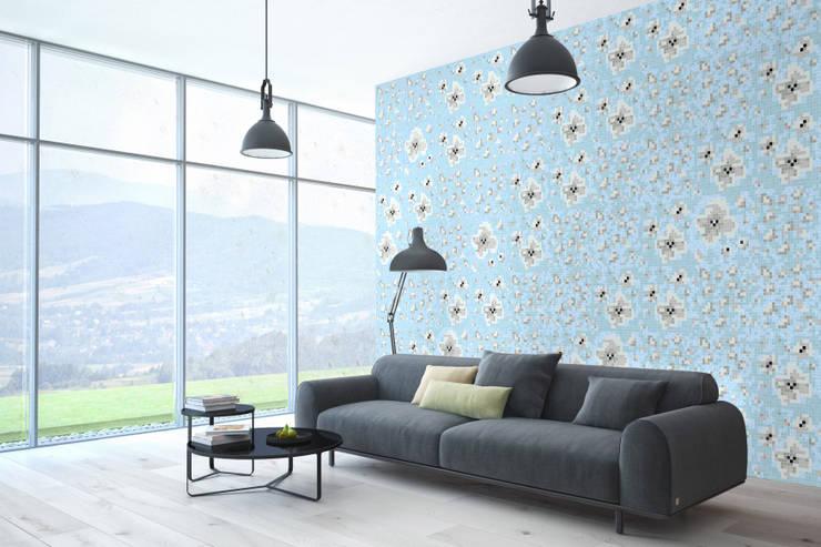 Inspiracja 1: styl , w kategorii Salon zaprojektowany przez Trufle Mozaiki