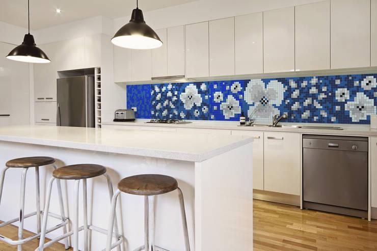 Inspiracja 3: styl , w kategorii Kuchnia zaprojektowany przez Trufle Mozaiki