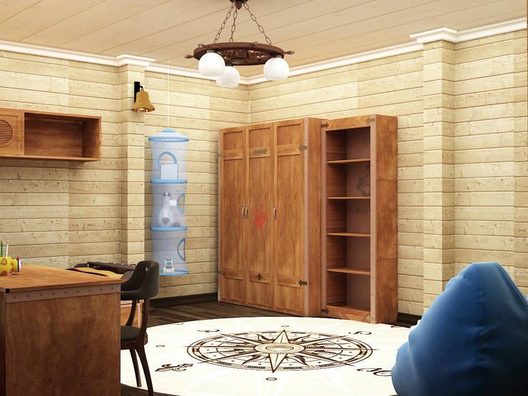 Детские: Детские комнаты в . Автор – ООО ПрофЭксклюзив Студия дизайна интерьеров, Эклектичный